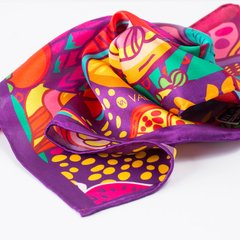 PAPAYAS - VALISSE · 100% SILK SCARVES · A PIECE OF ART ·