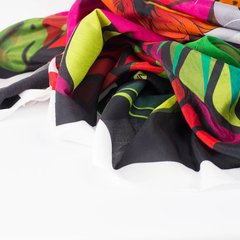 PAREO FLORES DE JAGUAR - VALISSE · 100% SILK SCARVES · A PIECE OF ART ·
