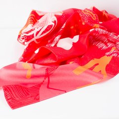 PICO CRISTOBAL COLÓN - VALISSE · 100% SILK SCARVES · A PIECE OF ART ·