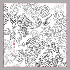 B&N - VALISSE · 100% SILK SCARVES · A PIECE OF ART ·