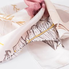 RASTROS - VALISSE · 100% SILK SCARVES · A PIECE OF ART ·