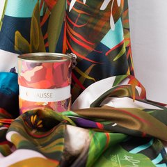 SANTUARIO PROTEGIDO - VALISSE · 100% SILK SCARVES · A PIECE OF ART ·