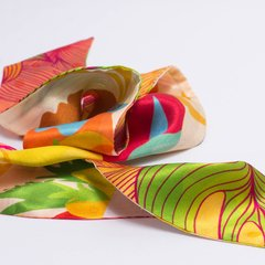 PALENQUERAS - VALISSE · 100% SILK SCARVES · A PIECE OF ART ·