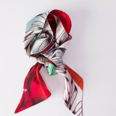 ROJO INTENSO - VALISSE · 100% SILK SCARVES · A PIECE OF ART ·