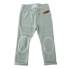Leggins Plush Wood Aqua