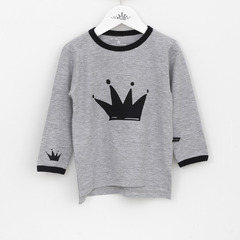 Remera •Harry• Gris Corona