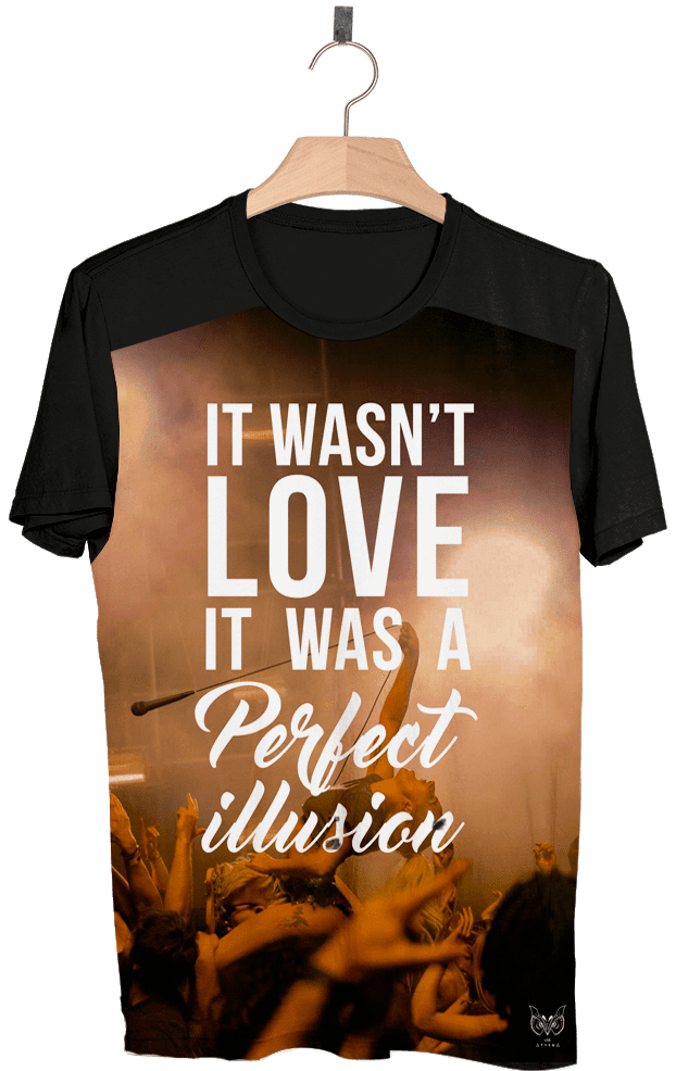 Camiseta - Lady Gaga Perfect Illusion
