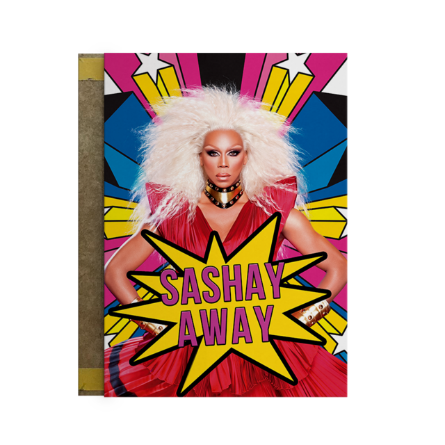 Quadro RuPaul's Drag race - Sashay Away