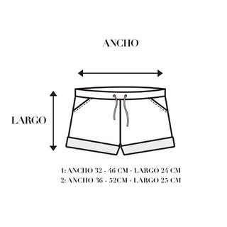 Short Camuflado en internet