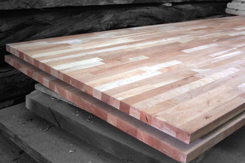 Tablero de madera maciza alistonado 1 5 cedro - Tableros madera maciza ...