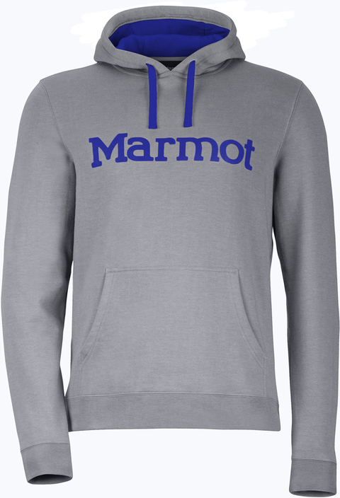 MARMOT BUZO HOODY STEEL HEATHER (536401356)