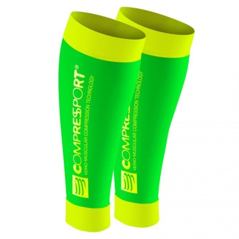 COMPRESSPORT R2 FLUOR GREEN T1 (7640163792492)