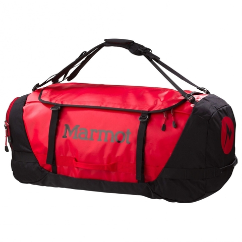 MARMOT LONG HAULER DUFFLE BAG TEAM RED/BLACK (785562626737)