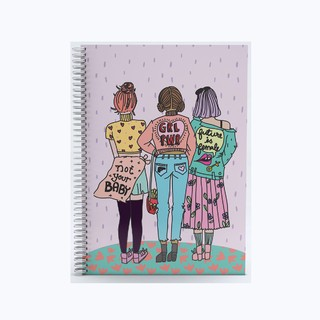 Cuaderno Girl Power A4