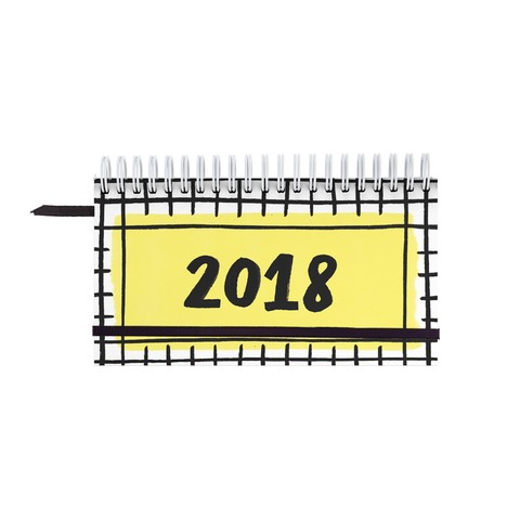 Agenda 2018 Black Pocket