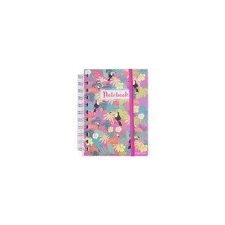 Cuaderno chico tropical