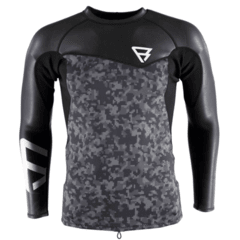 Krypto Neotop L/S 2/2 Men Black Camo