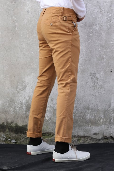 Pantalon de Dril stretch Miel en internet