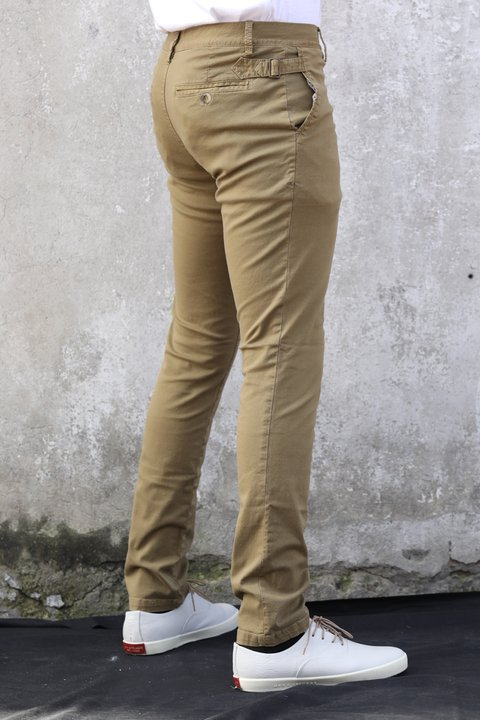 Pantalon de Dril stretch Camel en internet