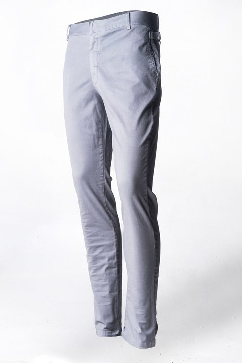 Pantalon de Dril stretch gris