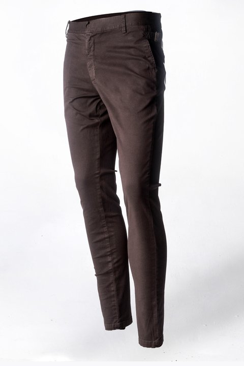Pantalon de Dril stretch Café