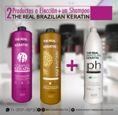 COMBO x2 + Shampoo - The Real Brazilian Keratin