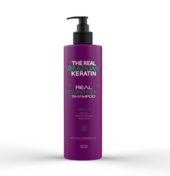 Shampoo SIN SAL Post Alisado THE REAL BRAZILIAN KERATIN