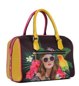 BOLSA BAÚ NICOLE LEE VG12746 VACATION GIRL IN PARADISO - comprar online