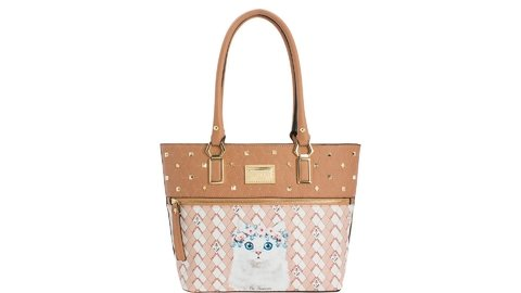 BOLSA RAFITTHY BE FOREVER CAT ANCHOR BEGE REF.: 31.82146