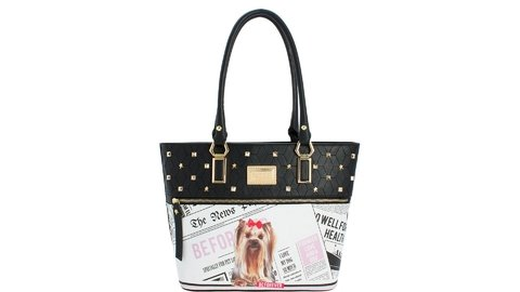 BOLSA RAFITTHY BE FOREVER YOK NEWSPAPER PRETO REF.: 31.82146