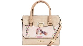 BOLSA BAU BE FOREVER RAFITTHY LHASA LIGHT/NATURAL REF: 31.91121