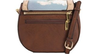 BOLSA TRANSV. RAFITTHY 2EM1, CHOCOLATE/NATURAL REF.: 31.91311 na internet