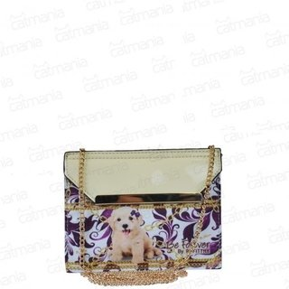 BOLSA SACO RAFITTHY 2EM1, NATURAL/CREME/OURO POODLE REF.; 32.71122 na internet