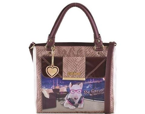 BOLSA RAFITTHY BE FOREVER MUSIC DOG REF: 11.62116