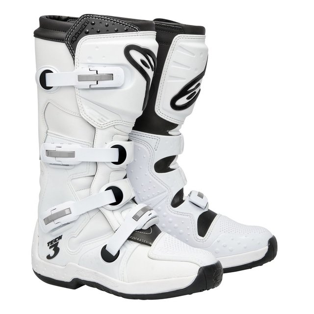 Bota Alpinestars Tech-3 Branca Super White