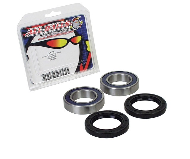 RODA TRASEIRA CRF 230 08/09 + XR 250/400 96/04 (KIT ALLBALLS)