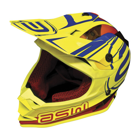 Capacete ASW Racing Fusion 2017 Fluor