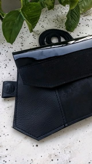 CARMELA minibag (total black)