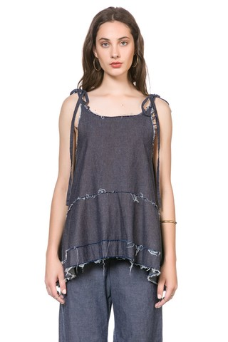 Musculosa Bar Denim - comprar online