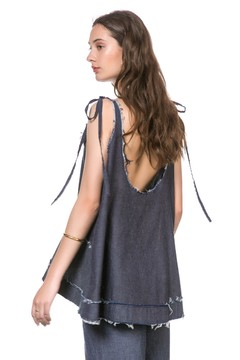 Musculosa Bar Denim