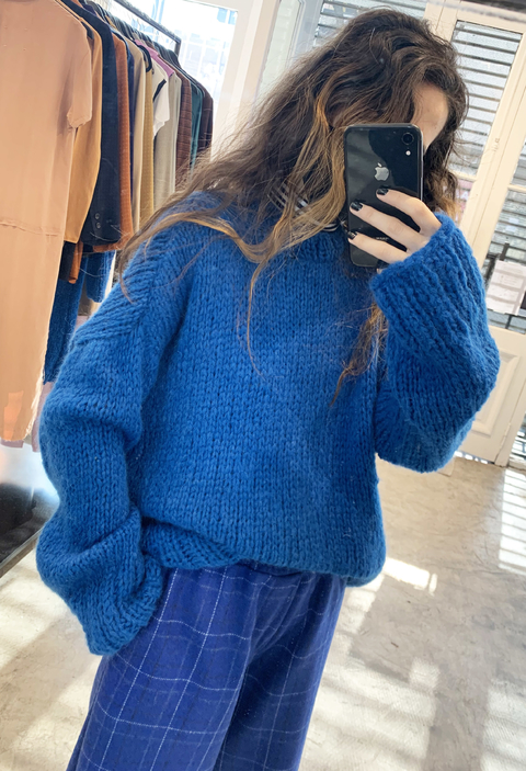Sweater Golgi Azul