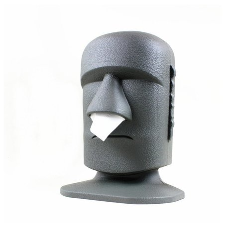 DISPENSER PAÑUELOS MOAI