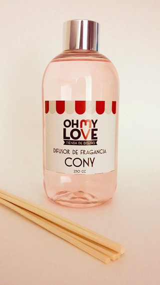 DIFUSOR BAMBU 250 ML - Oh My Love