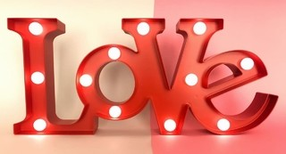 CARTEL LUMINOSO LOVE - Oh My Love