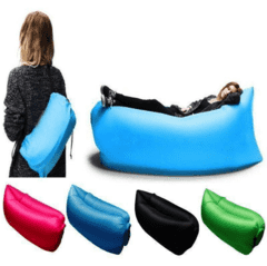 COLCHONETA INFLABLE LAZY BAG