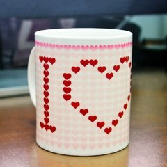 TAZA MÁGICA I LOVE YOU - comprar online