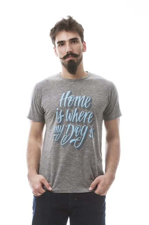 Camiseta - Home is where my dog is - comprar online