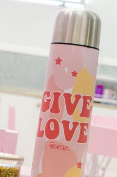 Termo 1/2 lt Give Love - comprar online