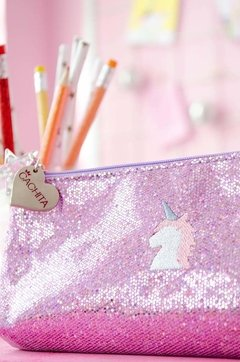 Cartuchera Glitter Unicorn en internet