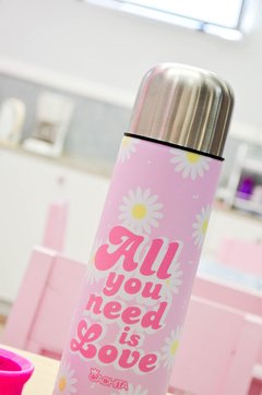 Termo 1/2 lt All You Need is Love - comprar online